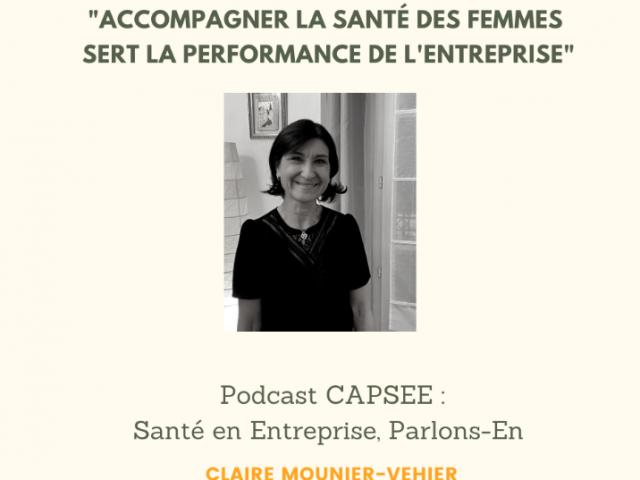 Podcast CAPSEE : Interview du professeur en Cardiologie Claire Mounier-Vehier